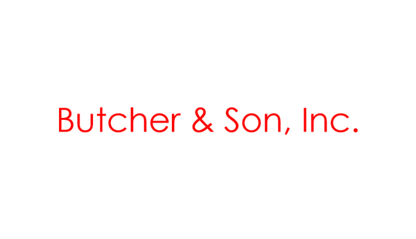 Butcher & Son, Inc.